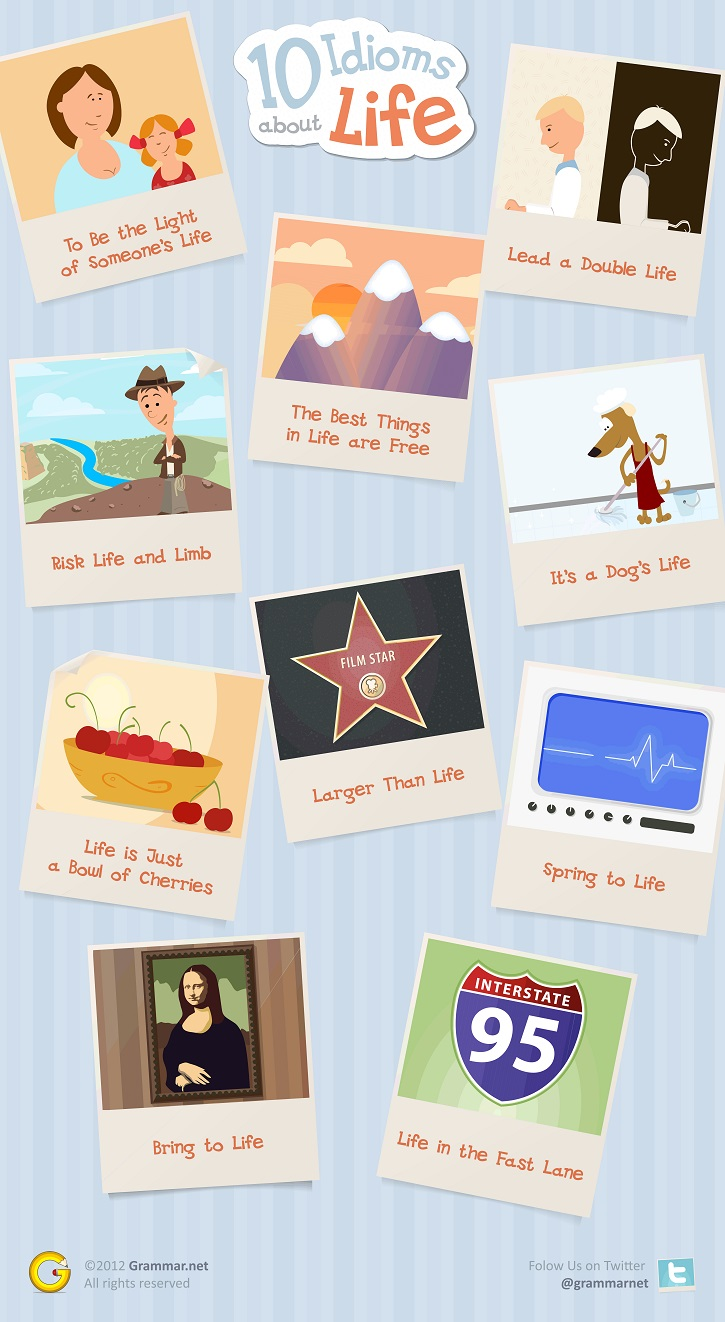 10 Idioms About Life for TOEFL